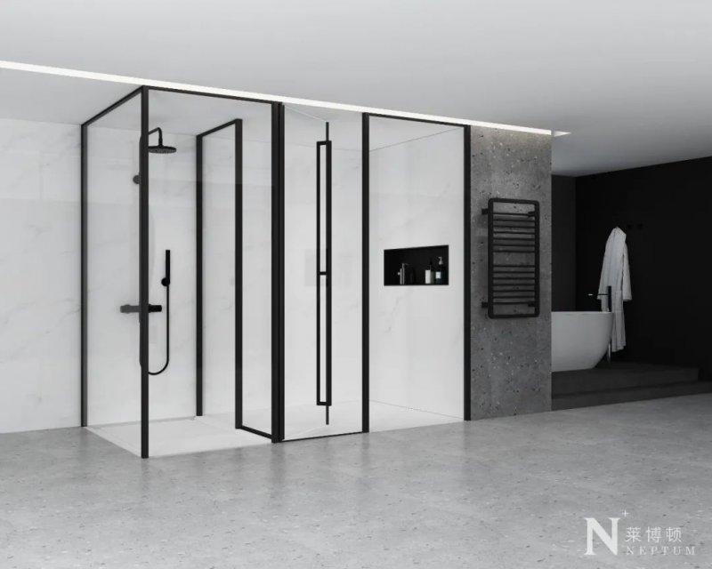 莱博顿淋浴房效果图 简约风格淋浴房产品图片