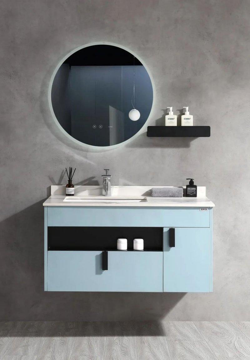苏泊尔卫浴效果图 古典风格浴室柜产品图片_4