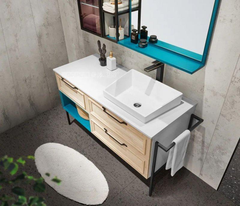 欧派卫浴效果图 浴室设计产品图片_8