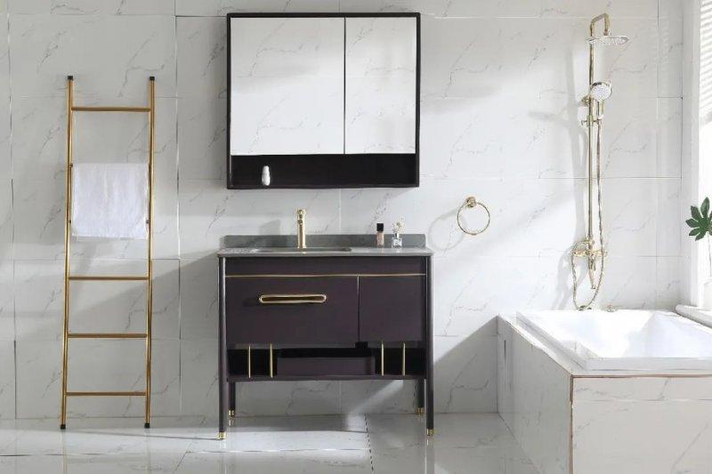 苏泊尔卫浴效果图 定制浴室柜产品图片_5