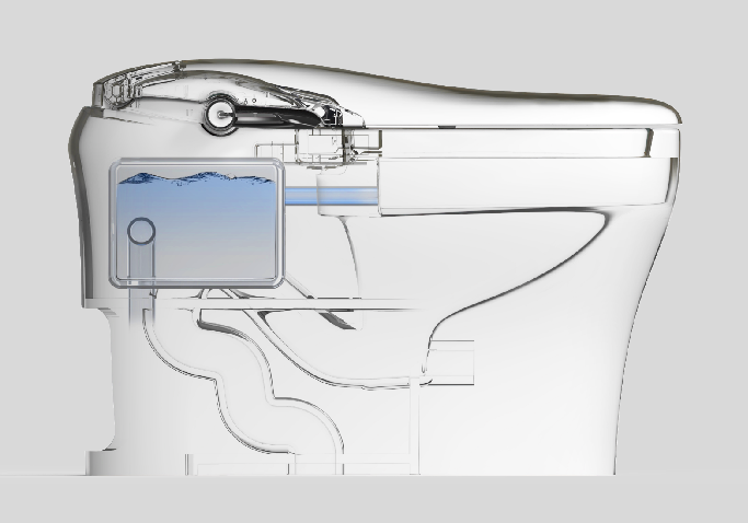 宜来卫浴效果图 如意系列智能马桶产品图片_4