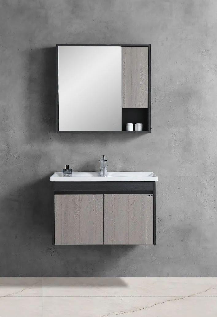 苏泊尔卫浴效果图 轻尚系列浴室柜产品图片_2