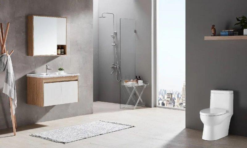 苏泊尔卫浴效果图 轻尚系列浴室柜产品图片_3