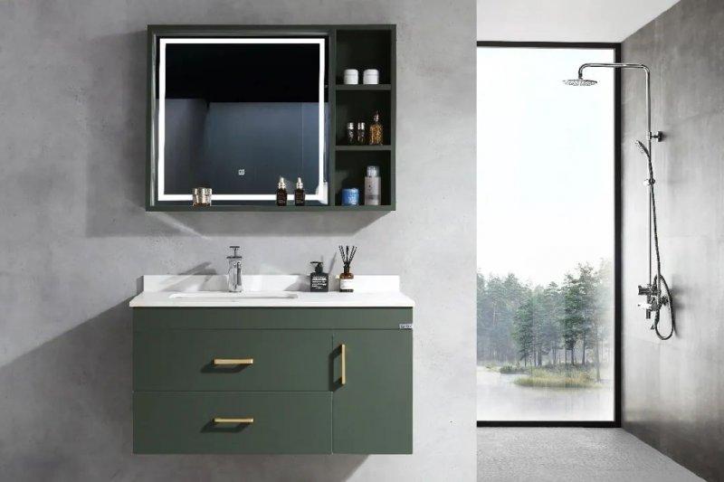 苏泊尔卫浴效果图 不锈钢浴室柜产品图片_1