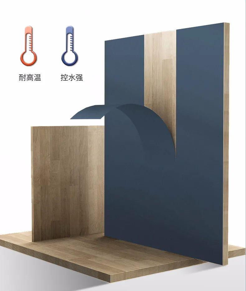 卡贝卫浴效果图 星空蓝系列浴室柜产品图片_4