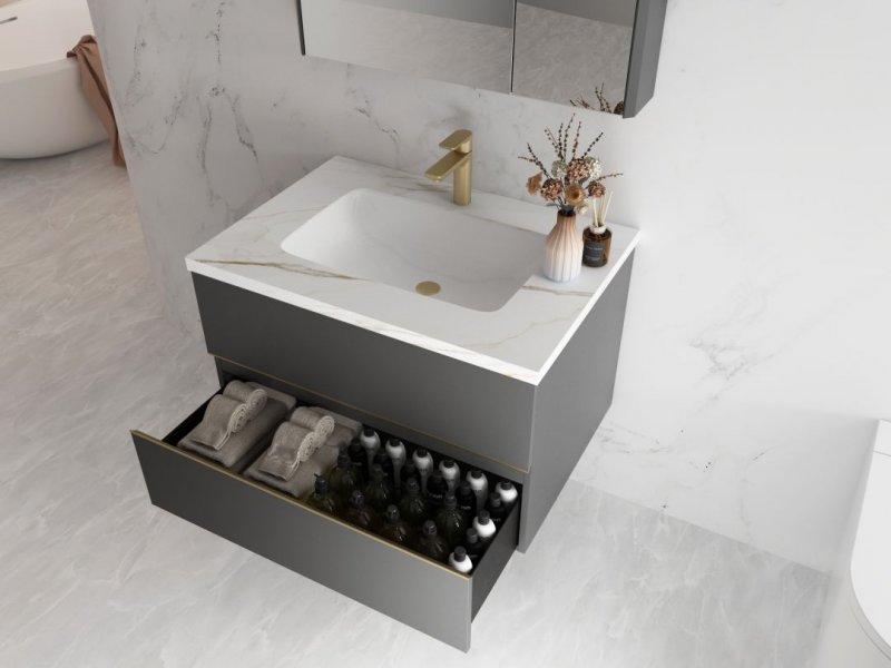 心海伽蓝浴室柜图片 新品微尘系列效果图_8