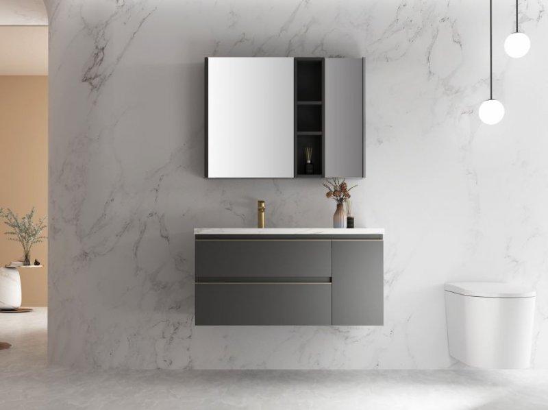 心海伽蓝浴室柜图片 新品微尘系列效果图_12