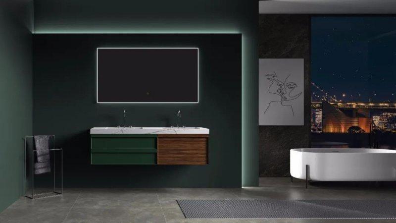 欧凯莎卫浴效果图 境遇系列浴室柜产品图片_4