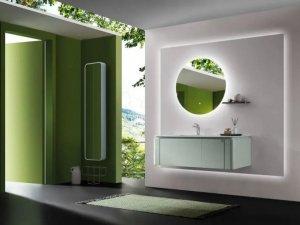 欧凯莎卫浴效果图 伊芙系列浴室柜产品图片