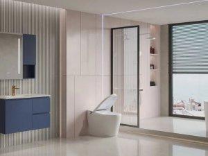 惠达卫浴HFL0904-8156NC浴室柜产品图片