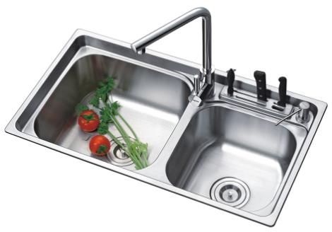 金牌卫浴 厨房安装水槽时,需要注意哪些事项_1